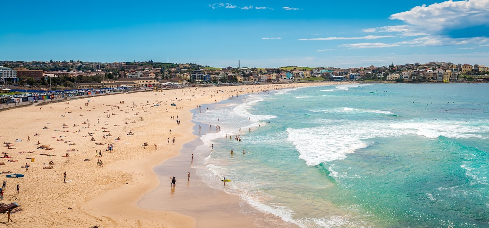 Properties near Bondi Beach in Sydney attract high Airbnb rates