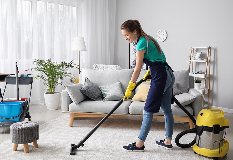 A professional cleaning company is recommended for your Airbnb property