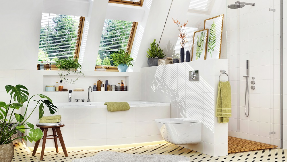 Having a clean, uncluttered bathroom is important